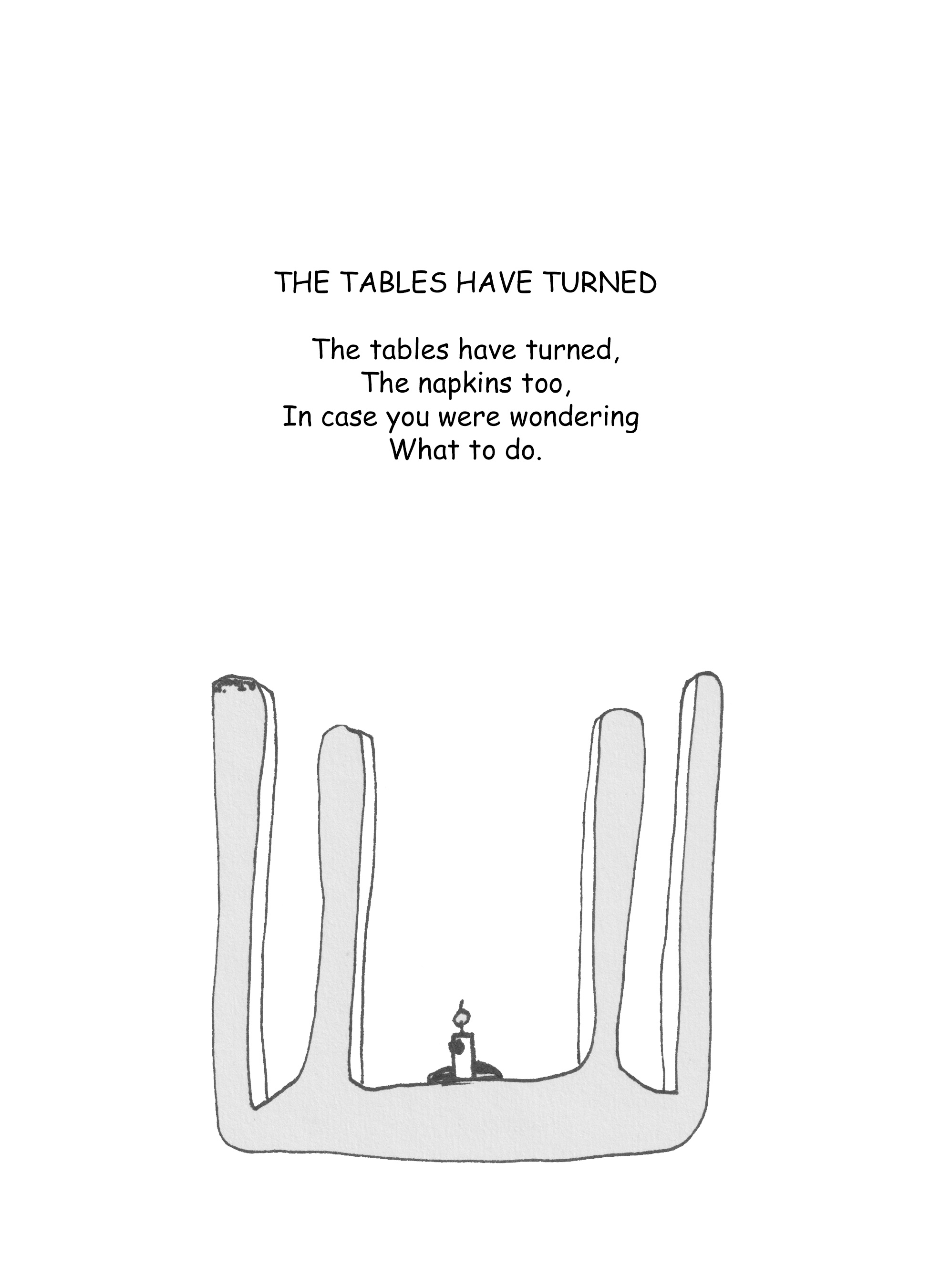 The Tables Have Turned – Wild Like the Flowers
